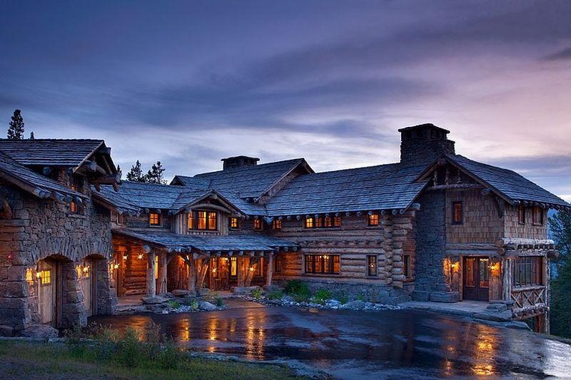 10 chalets de montagne l 39 architecture exceptionnelle - Chalet rustique montana pearson design group ...