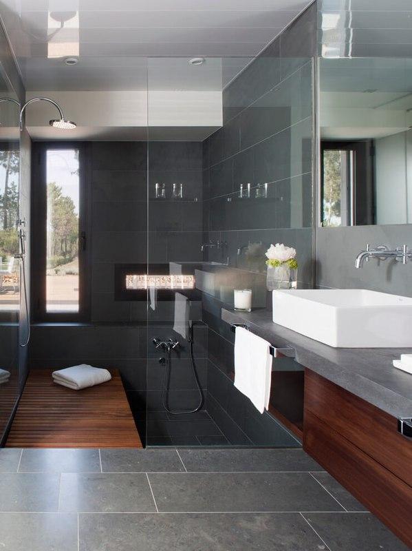 magnifique r sidence familiale avec piscine en espagne construire tendance. Black Bedroom Furniture Sets. Home Design Ideas