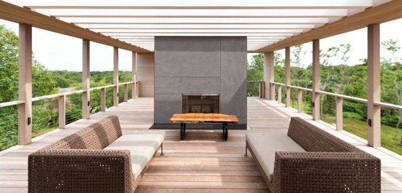R sidence contemporaine de vacances en bois sur l 39 le de - Residence de vacances gedney architecte ...