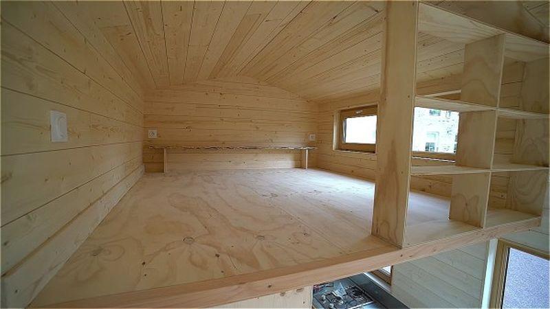 la tiny house de bruno thi ry en normandie france construire tendance. Black Bedroom Furniture Sets. Home Design Ideas