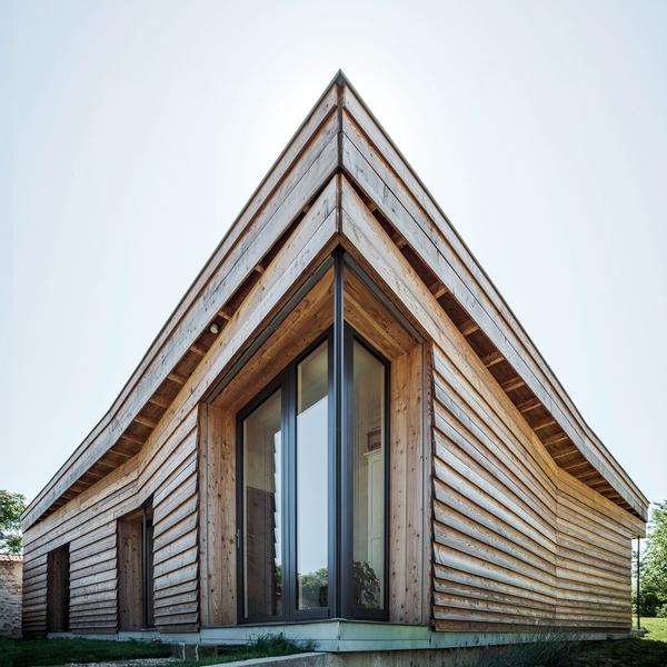 Maison Bois Contemporaine Bioclimatique Par Guillaume