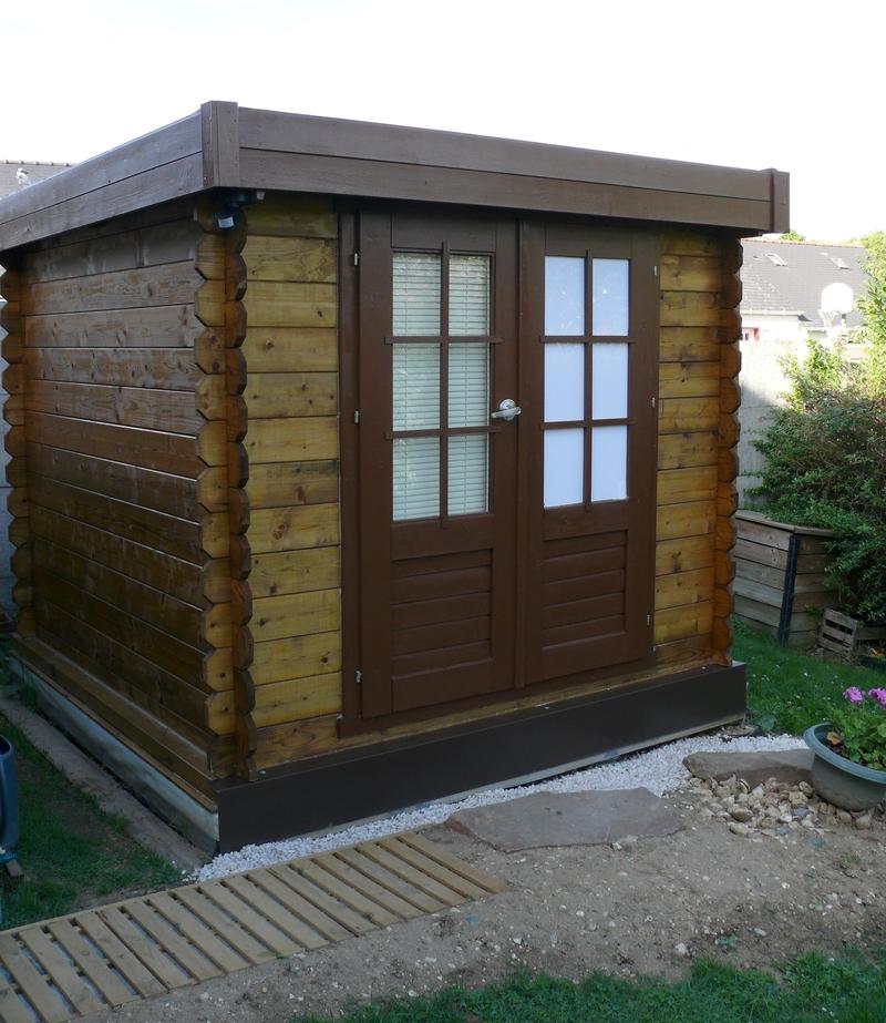 Construire un bureau de jardin cologique construire for Bureau jardin