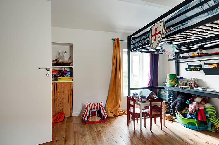 Chambre Enfant Extension Contemporaine Par Jean Philippe Dore Vexin France Photo Jean Richer Construire Tendance
