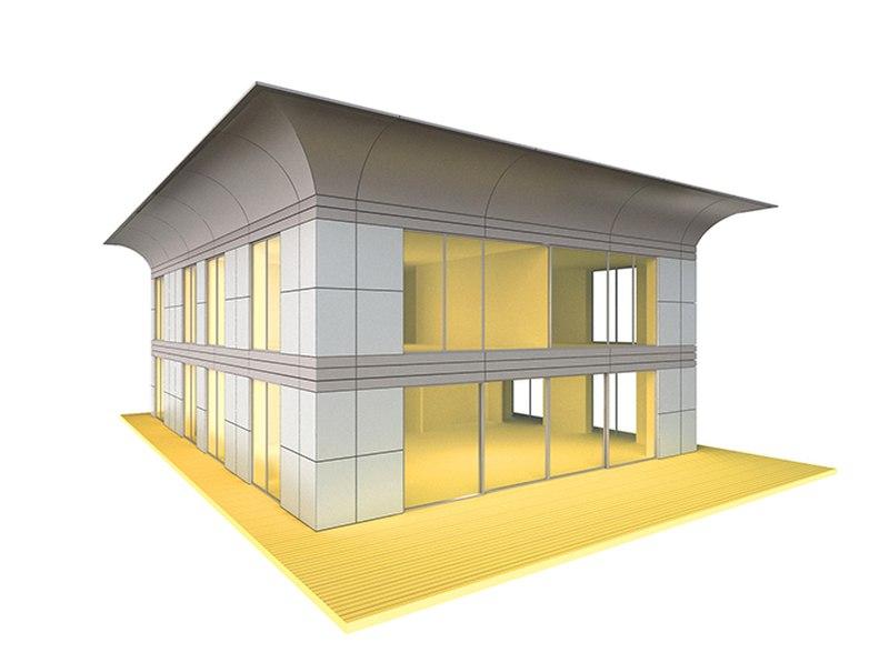 maison en bois philippe starck ventana blog. Black Bedroom Furniture Sets. Home Design Ideas