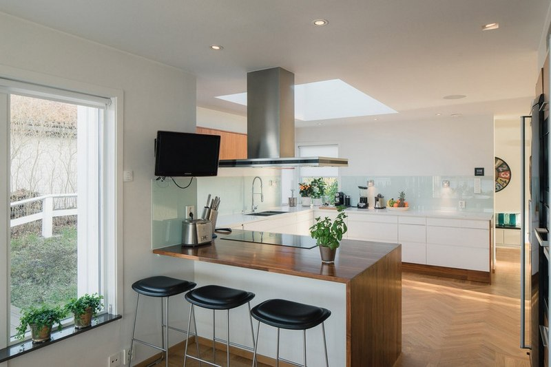 Une maison contemporaine sur la p ninsule de su de for Cuisine 2015 contemporaine