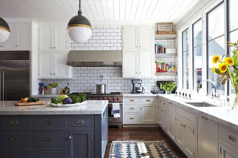 Cuisine Maison Bois Contemporaine Par Architect Nashville Usa