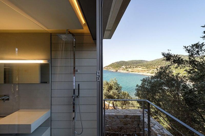 Notre ntam lesvos residences par z level agios fokas - Construire douche exterieure ...