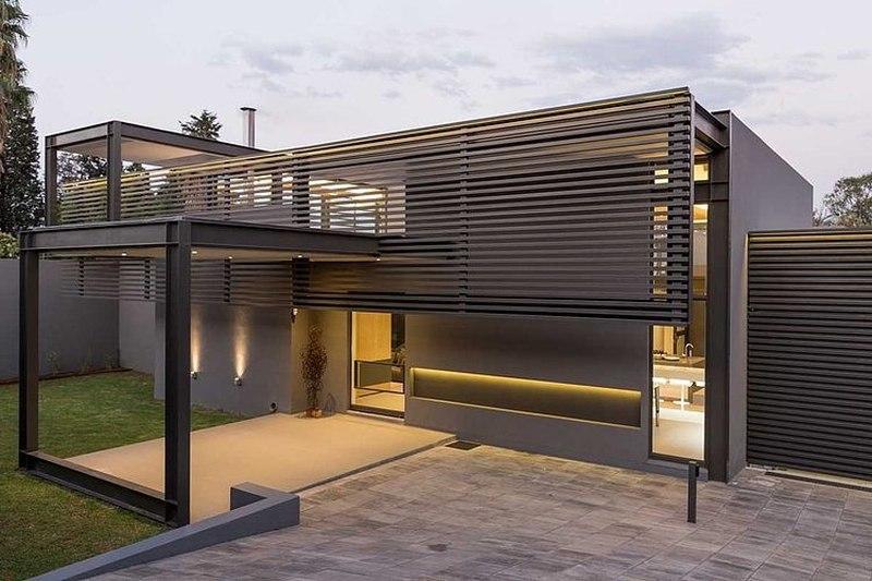 House sar par nico van der meulen architects afrique du sud construire tendance - Entree de maison moderne ...