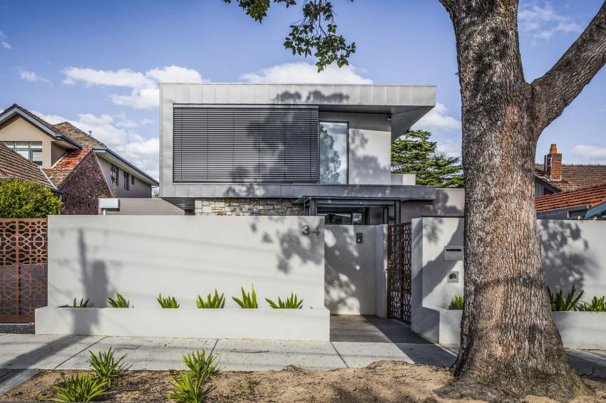 Hampton residence par finnis architects melbourne - Maison entrepot melbourne en australie ...