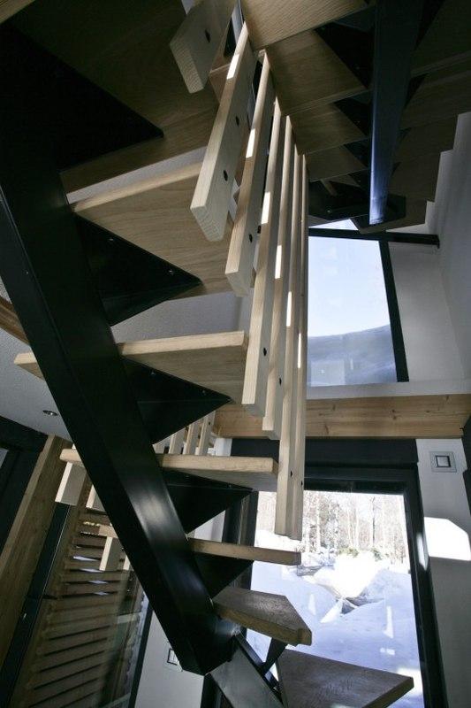 chalet piolet par chevallier architectes chamonix france construire tendance. Black Bedroom Furniture Sets. Home Design Ideas