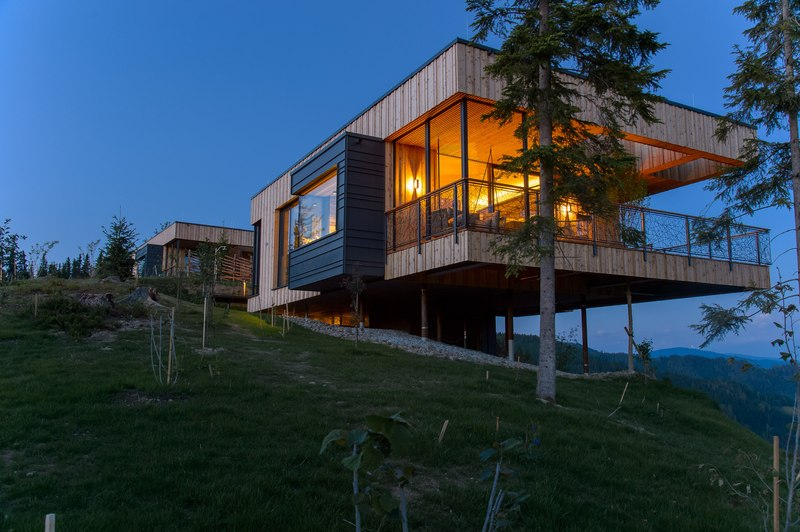 Deluxe Mountain Chalets Par Viereck Architects Styria
