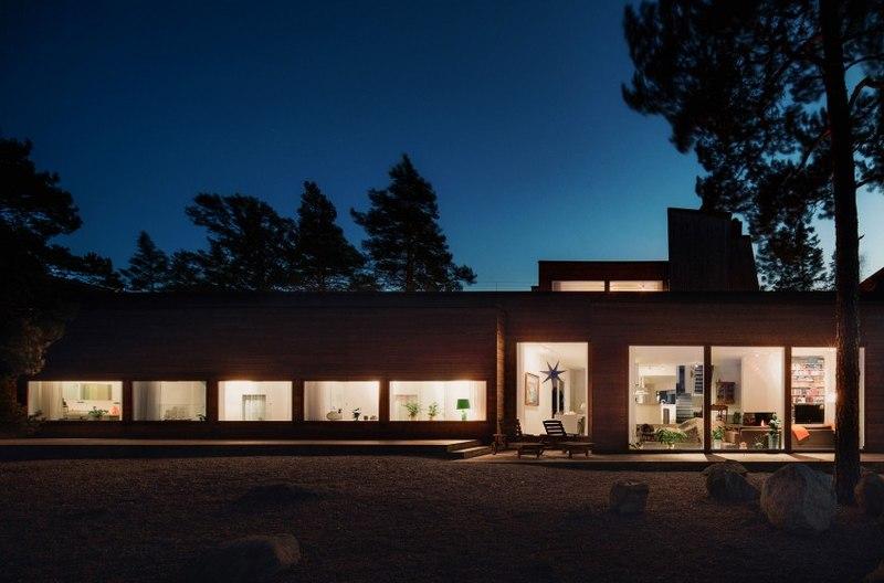 Maison bois contemporaine par gabriel minguez ingar - Superficie minimum chambre ...