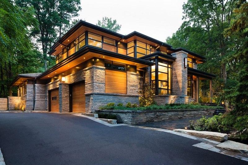 Façade Garage Et Allée   Davidu0027s House Par David Small Design à Toronto,  Canada