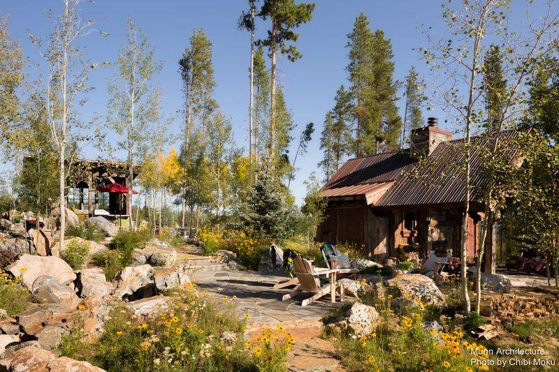 Fa ade jardin camp 88 par munn architecture colorado for Jardin 88