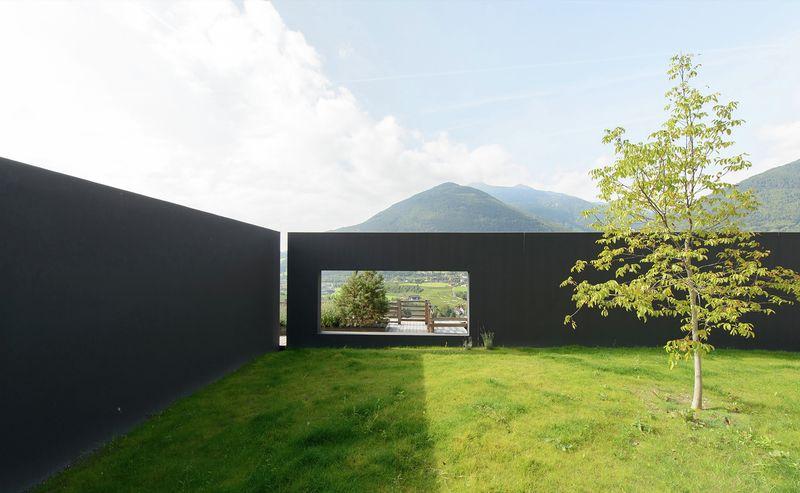 Structure slope par bergmeister wolf architekten bozen for Grand jardin wine