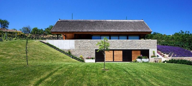 Façade Jardin   Villa Du Lac Balaton Par FBI Studio   Balatonfüred, Hongrie