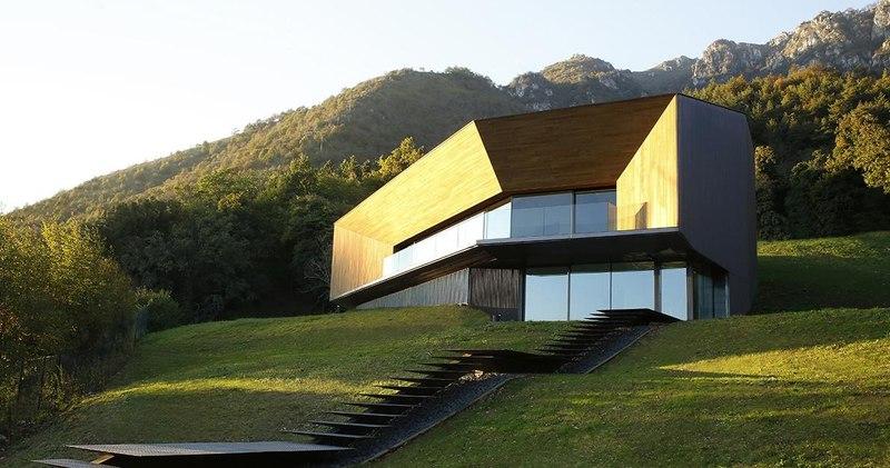Alps villa par camillo botticini architect brescia for Architetto brescia