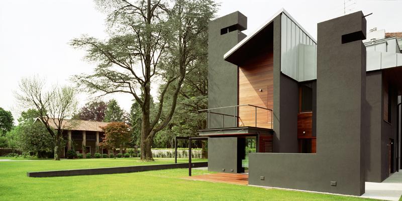 Façade sud nm house par geza gri et zucchi architetti associati tarcento italie