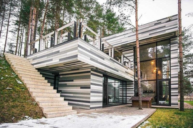Maison Contemporaine Par Gyza Vinius Lituanie