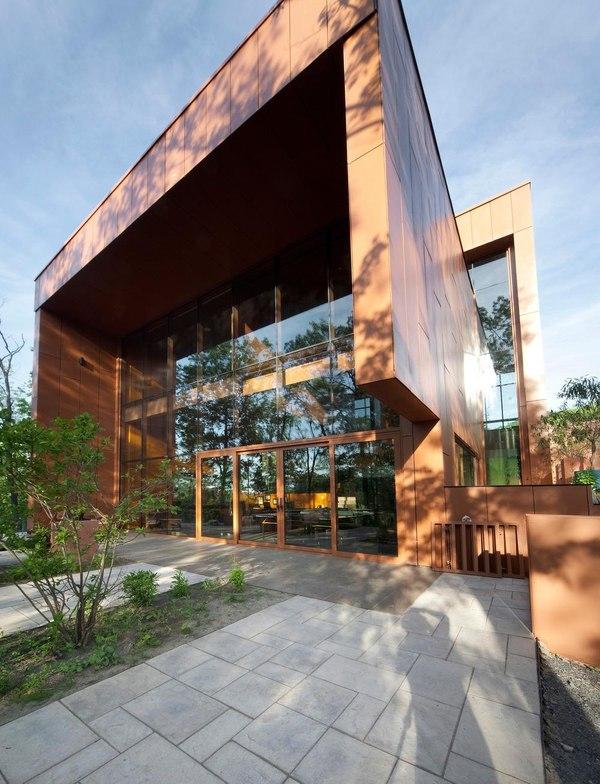 Maison leed terre et eau par blouin tardif architecture for Architecture quebecoise