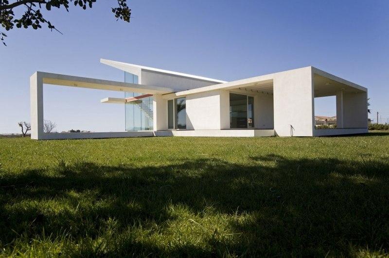 Villa t by architrend architecture ragusa sicile for Prospetti ville moderne