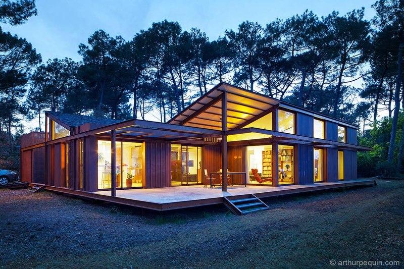 maison alios par guillaume cosculluela pays basque. Black Bedroom Furniture Sets. Home Design Ideas