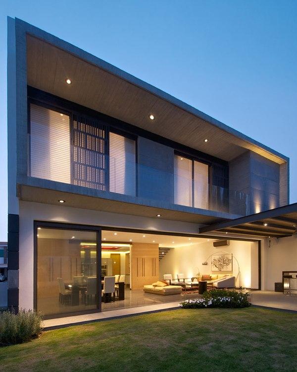 V house par agraz arquitectos puerta plata mexique construire tendance - Maison s par domenack arquitectos ...