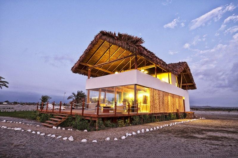 House in playa del carmen par yupana arquitectos chincha alta p rou construire tendance - Maison s par domenack arquitectos ...