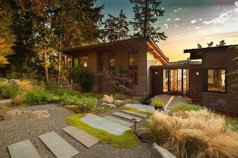 Maison contemporaine en bois au Canada | Construire Tendance