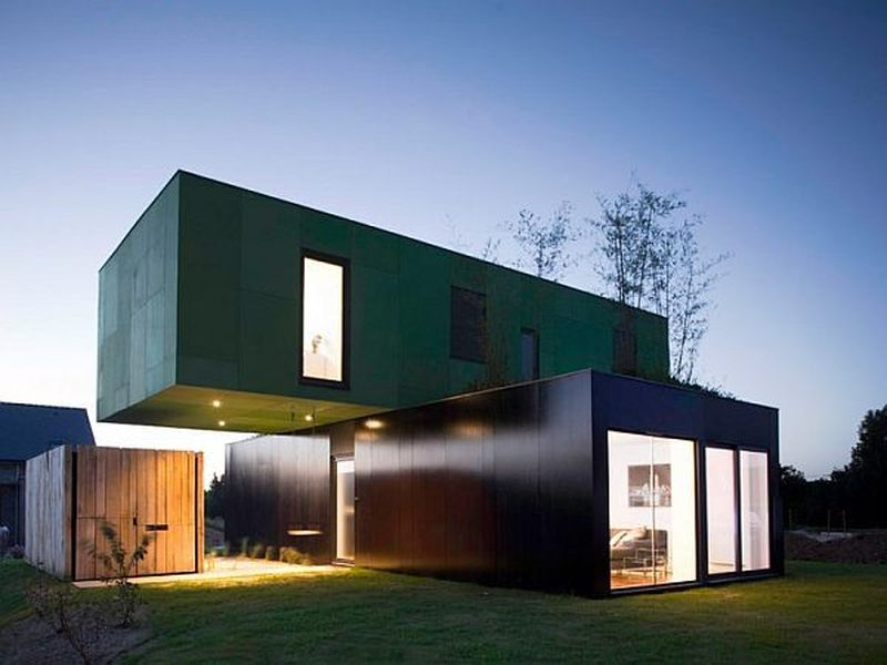 25 maisons container au design contemporain construire for Maison container suisse
