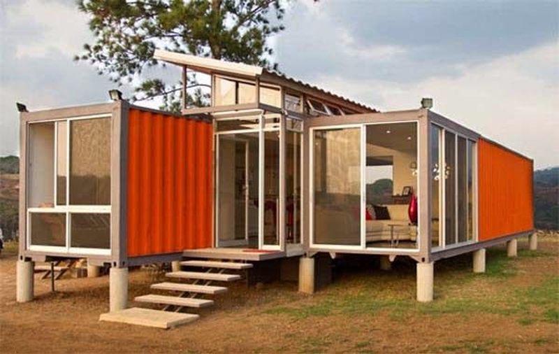 Maison Container Sur Pilotis  Construire Tendance