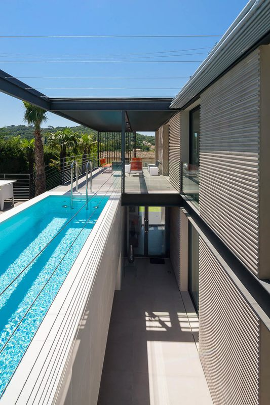 Maison H3 Villa Contemporaine Par Vincent Coste St