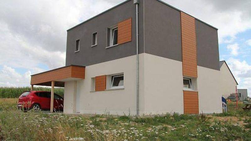 Bi ton osez une touche de couleurs sur votre maison - Pavillon residentiel moderne gurney architecte ...
