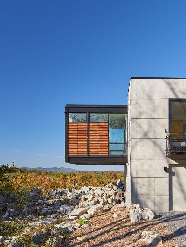 petit porte faux hawks nest par wiedemann architects usa construire tendance. Black Bedroom Furniture Sets. Home Design Ideas