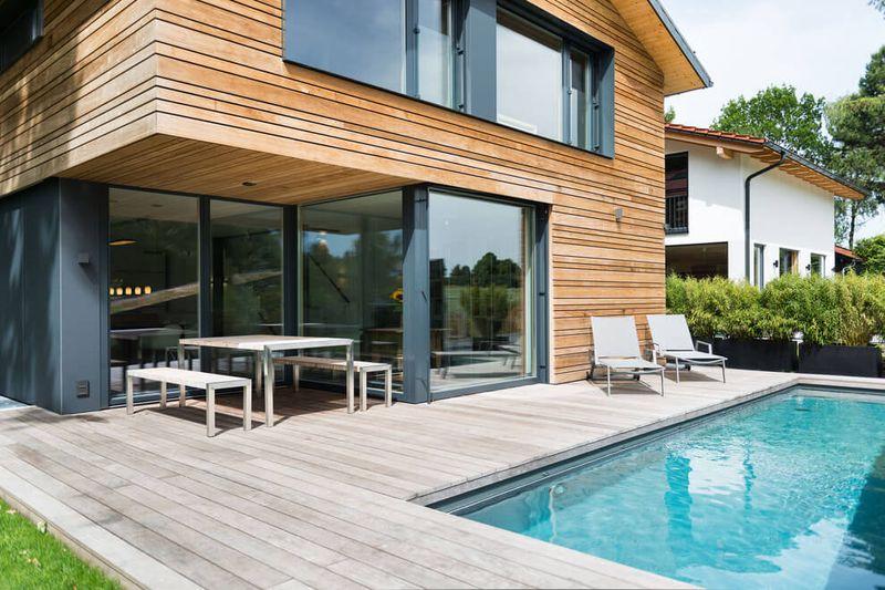 Fa ade terrasse et piscine despang par despang schl pmann architekten allemagne construire - Despang architekten ...
