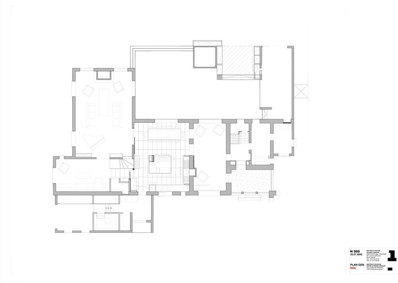 Extension et r novation maison traditionnelle par olivier chabaud architecte - Plan maison normande ...