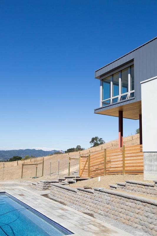cloverdale par chris pardo design elemental architecture sonoma californie usa construire. Black Bedroom Furniture Sets. Home Design Ideas