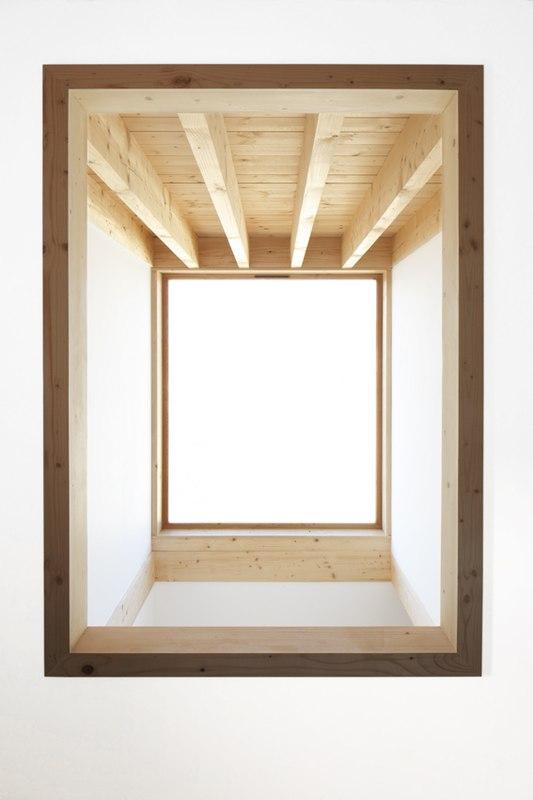 puits de lumière - Maison bois contemporaine par Bernard Quirot ...