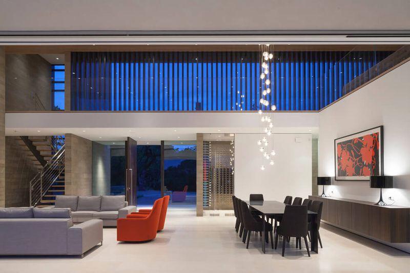 Magnifique r sidence priv e de luxe par e de verre en - Residence calistoga strening architects californie ...