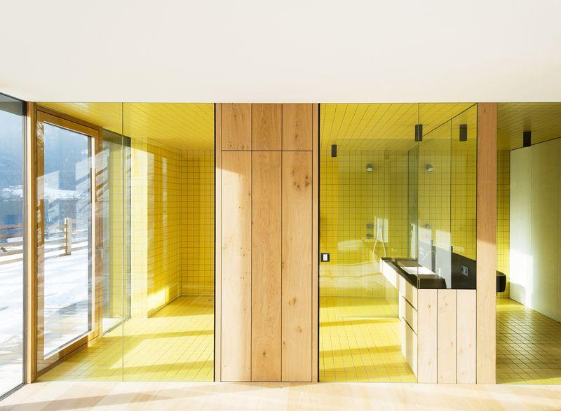 Structure slope par bergmeister wolf architekten bozen for Salle de bain italie