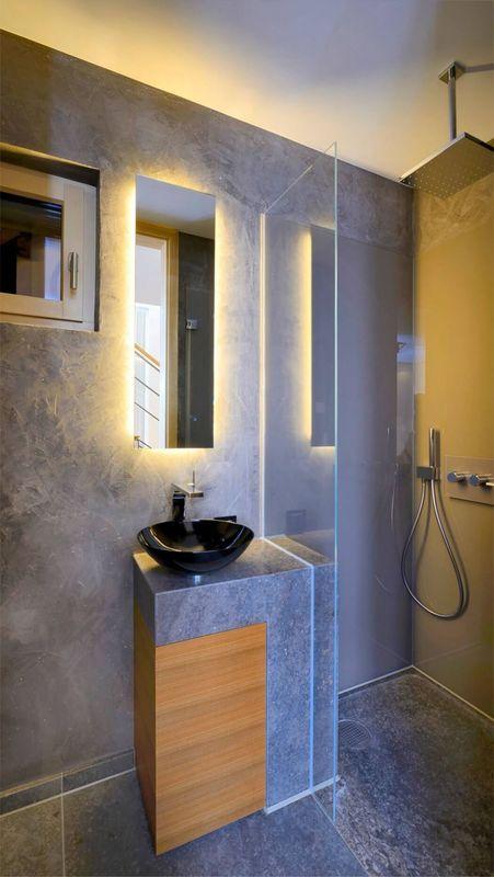 r sidence alpine moderne dans les bois en allemagne construire tendance. Black Bedroom Furniture Sets. Home Design Ideas