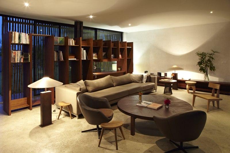Bambou pavillion par koffi diabat architectes assinie for Salon bambou