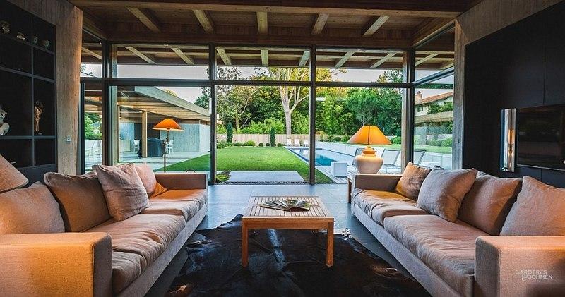 Villa Oasis - maison contemporaine en location - Biarritz ...