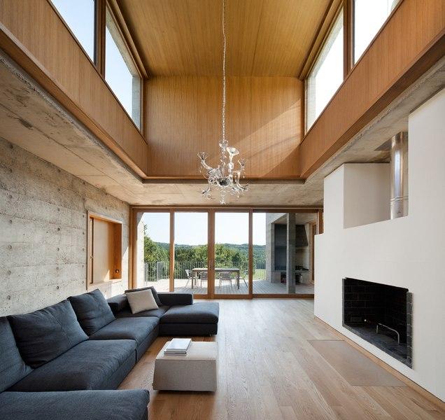 maison terrier par bernard quirot architecte associ s haute sa ne france construire tendance. Black Bedroom Furniture Sets. Home Design Ideas