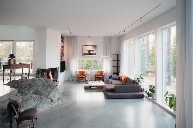 maison bois contemporaine par gabriel minguez ingar su de construire tendance. Black Bedroom Furniture Sets. Home Design Ideas