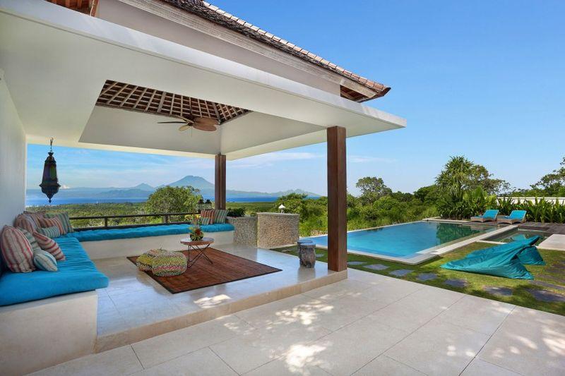 Magnifique villa contemporaine en pleine for t tropicale - Maison sur pilotis maldives ...