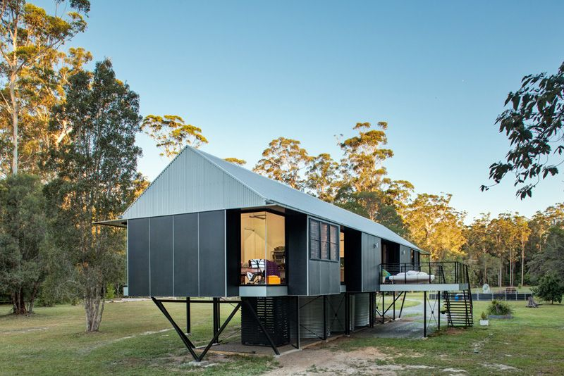Maison Sur Pilotis Dans Une Zone Inondable En Australie  Construire