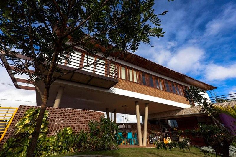 casa do arquiteto parjirau arquitetura pernambuco br sil construire tendance. Black Bedroom Furniture Sets. Home Design Ideas