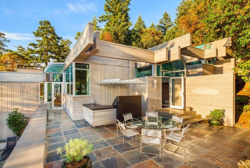 terrasse u2013 villa contemporaine en bois par Daniel Evan