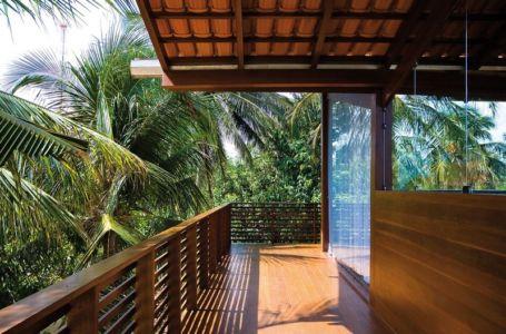 balcon terrasse étage - Casa Tropical par Camarim - Mundau, Brézil